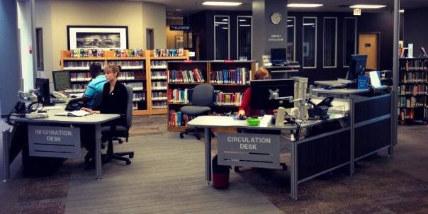 Concordias New Library Service Desk