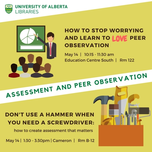 Assessment & Peer observation - Social media